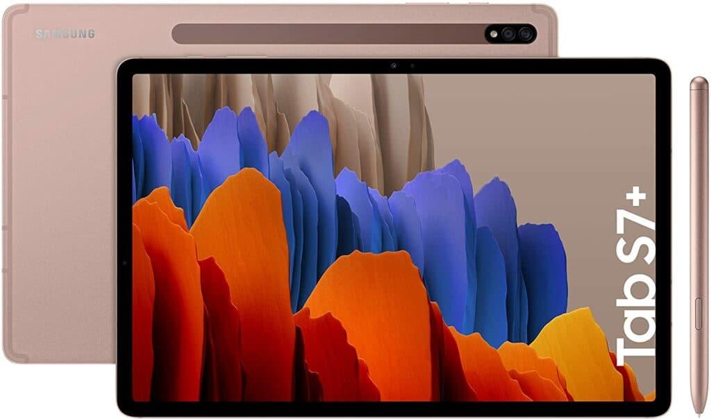 Samsung Galaxy Tab S7+ mejores tablets de 12 pulgadas