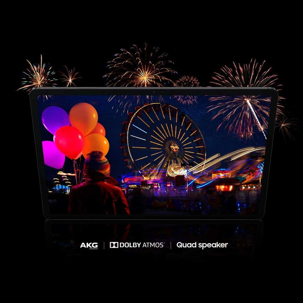 Samsung Galaxy Tab S7+ detalle audio
