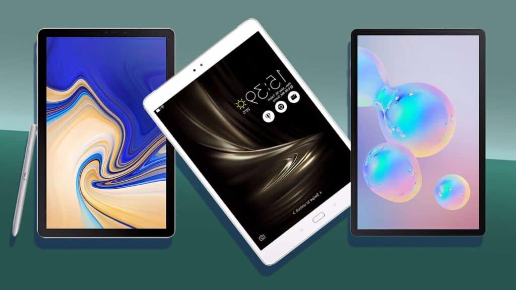 foto de 3 tablets articulo mejores tablets de 10 pulgadas en 2021