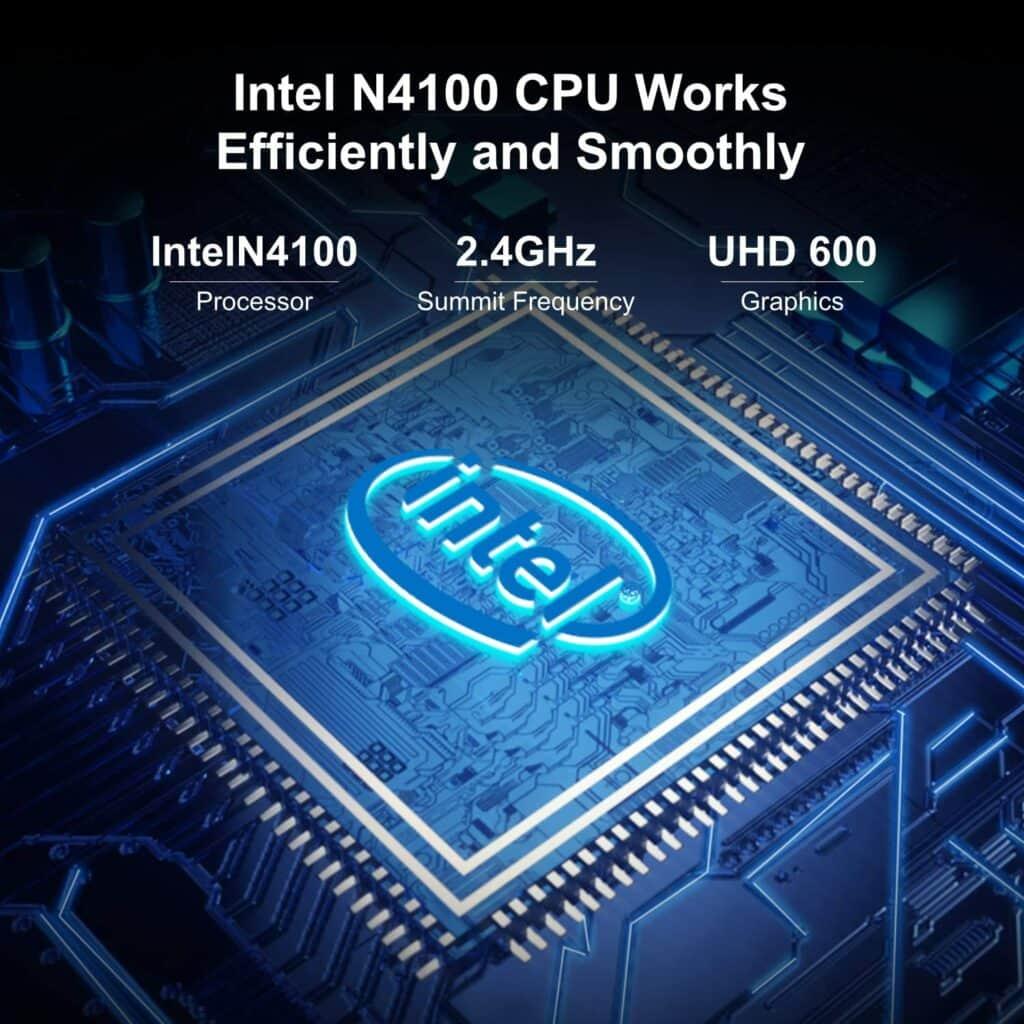 Chuwi ubook x detalle procesador