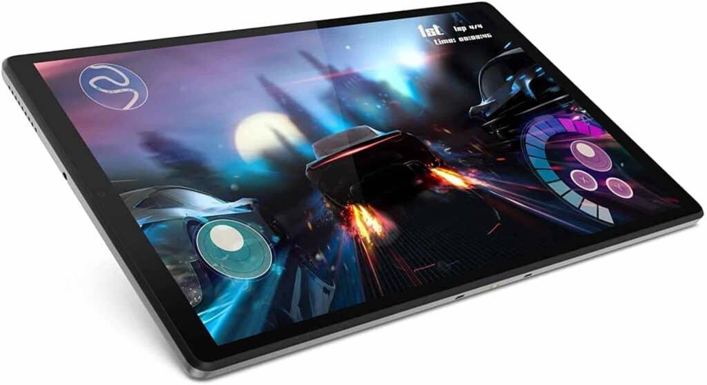 Lenovo M10 FHD Plus Tablet de 10.3 gaming en la pantalla
