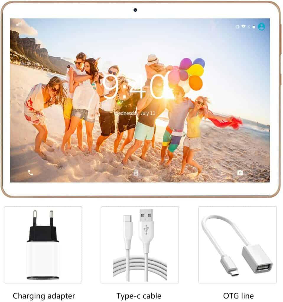 detalle pantalla de Tablet Yotopt modelo