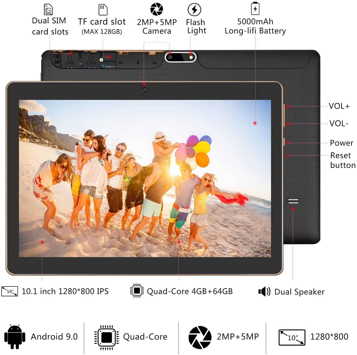 Nuestra valoración de la Tablet Yotopt (K107)