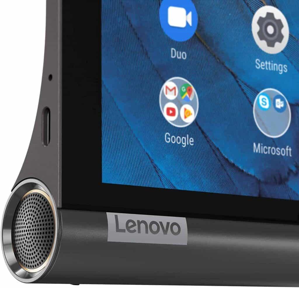 tablet Lenovo Yoga Smart Tab detalle altavoz