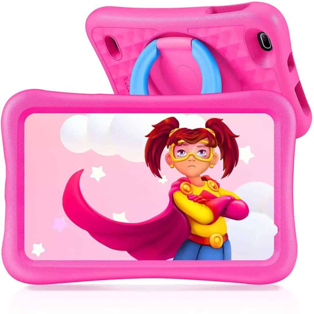 tablet infantil vankyo s8 con funda protectora