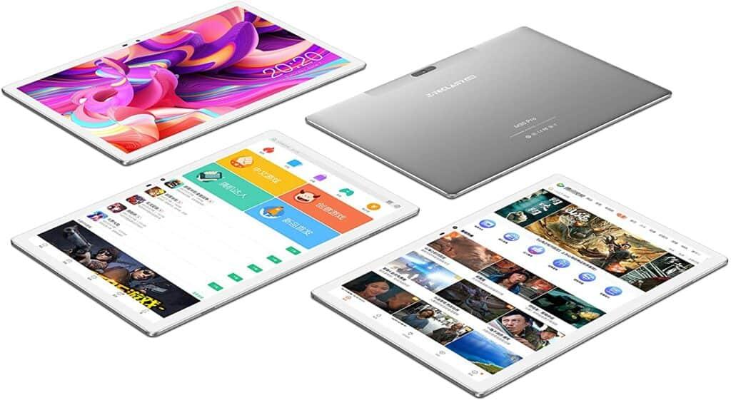 tablet teclast m30 vista de varios ángulos