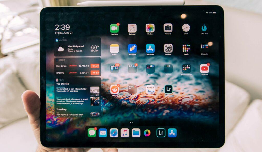 demasiadas apps en tu tablet la hacen lenta