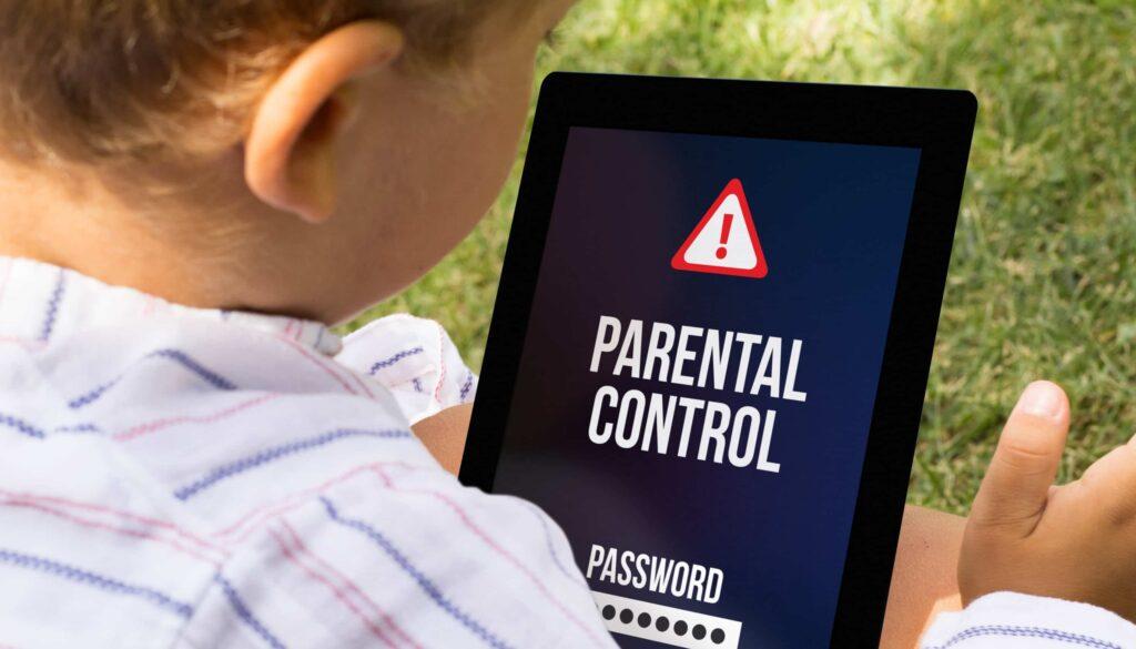 Control parental para bloquear youtube en una tablet