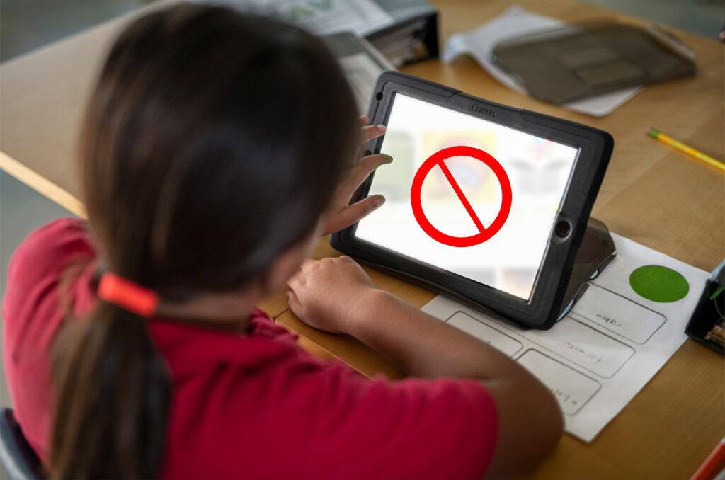 configurar tablet para que niños no vean ciertas paginas