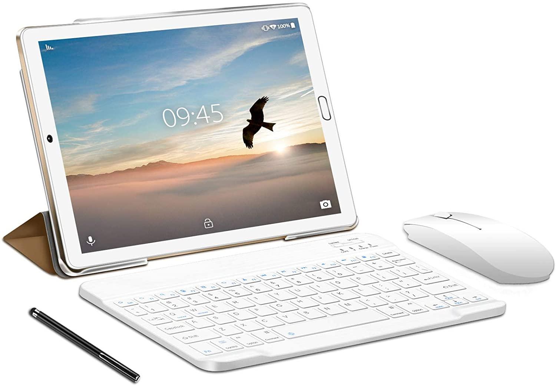 Tablet YESTEL X7: La mejor tablet económica con mouse, teclado y pen