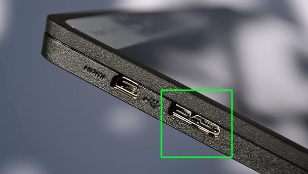 conector mhl en una tablet