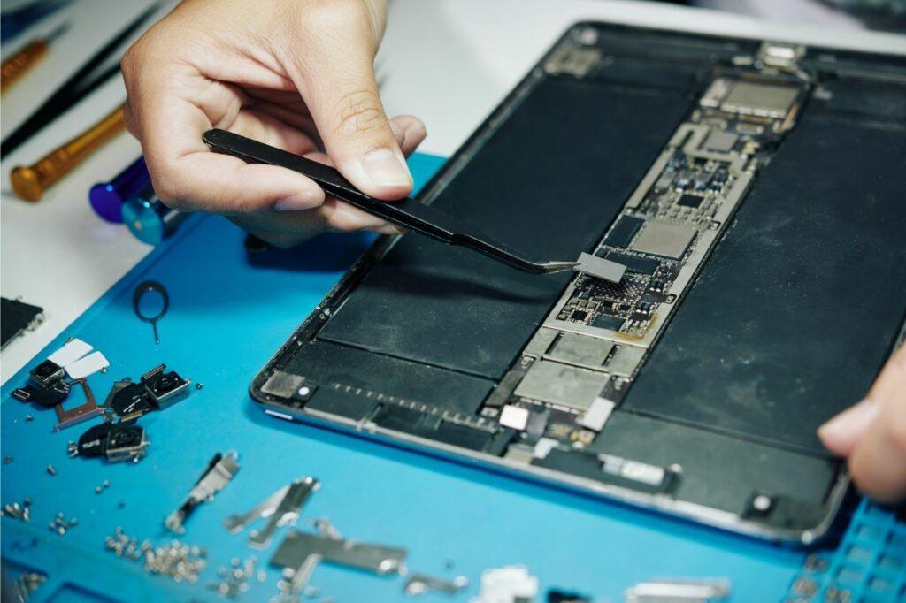 poniendo un procesador en una tablet