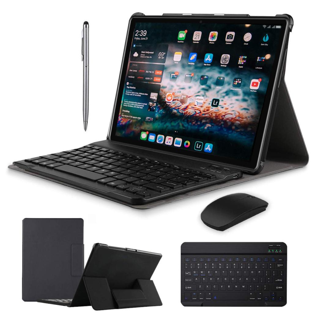 tablet duoduogo con teclado y ratón